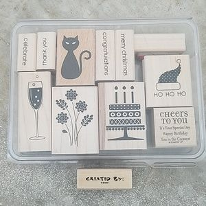 Other - Stampin Up Holiday & Celebration Stamps